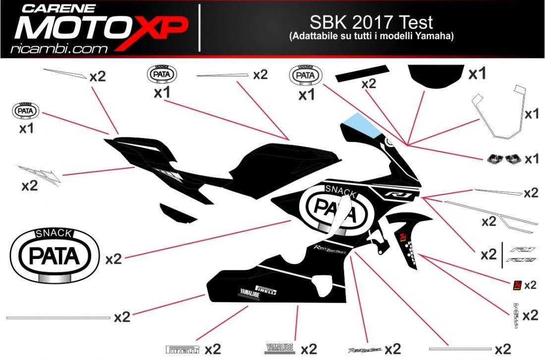 Pegatinas Adhesivos Motos Racing Yamaha R1 2015 2016 2017 2018 TS17: Amazon.es: Coche y moto