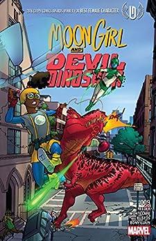 Moon Girl and Devil Dinosaur (2015-2019) #9 by [Amy Reeder, Brandon Montclare, Natacha Bustos]