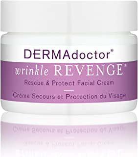 DERMADoctor Wrinkle Revenge Rescue and Protect Facial Cream, 1.7 oz.