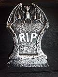 De Halloween Mini tumba de piedra RIP 10 cm, decoración de la mesa