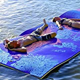 Water Hammock, Floating Bed, Pool Lounger Float Hammock Beach Mat Tear-Resistant Cosy XPE Foam Floating Mat Summer Outdoor Adult Comfortable Float Swimming Pool Lounger Air Sofa