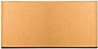 Aspect Peel and Stick Backsplash Brushed Copper Short Grain Metal Tile Sample for Kitchen and Bathrooms (3