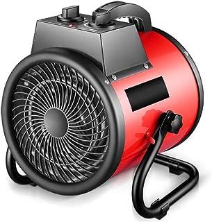 Radiador eléctrico MAHZONG Calentador Industrial de Alta Potencia 3000w rápido de Ahorro de energía de calefacción IPX4 Impermeable con función de protección de sobrecalentamiento for el hogar Indu