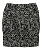 Sunny Leigh Womens Shine On Pencil Skirt, Black, 10