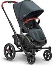 Quinny VNC Carrito bebé reversible y reclinable posición para dormir desde nacimiento, manillar regulable en altura, plegable con una sola mano, color Graphite Twist