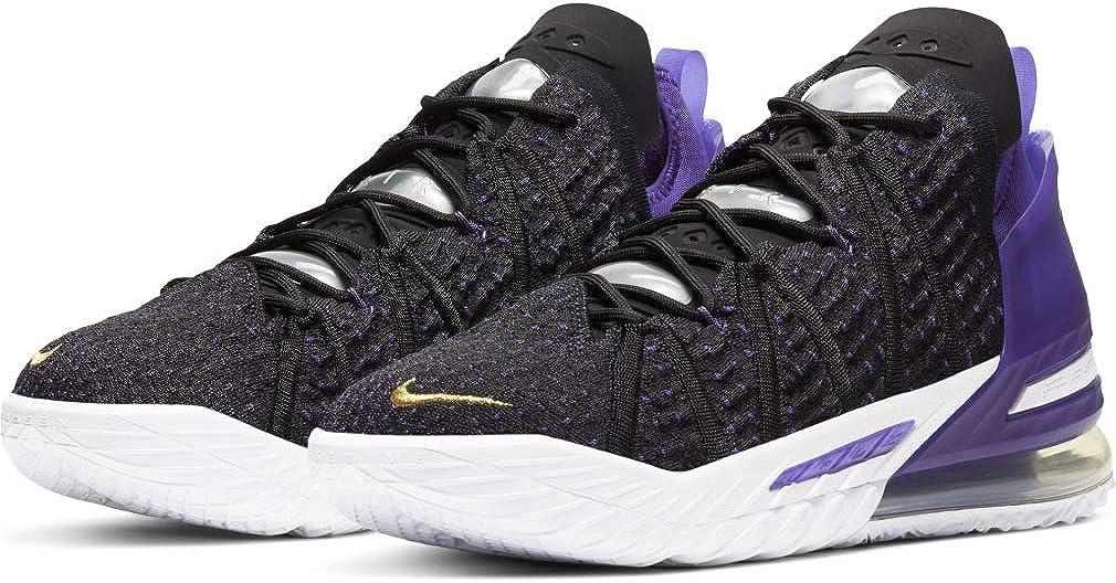 Nike Men's Shoes Cheap SALE Start Lebron 18 Superlatite Angeles Los DB8148-600 Night by