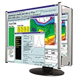 Kantek MAXVIEW LCD Monitor Magnifier Filter for 19-Inch and 20-Inch Widescreen Monitors (Measured Diagonally) (MAG19WL),Black/Silver