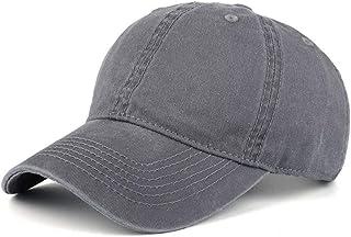 قبعة بيسبول عالية الجودة من القطن المغسول قابلة للتعديل بلون موحد للجنسين قبعة زوجين أزياء أوقات الفراغ عارضة قبعة سناب باك