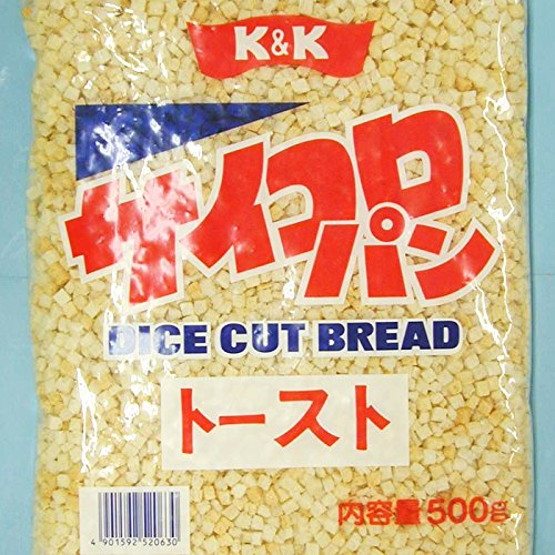 K&K サイコロパン トースト 5mmカット 500g×10袋入