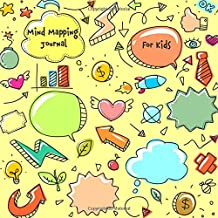 Mind Mapping Journal for Kids: 120 pages 8.5 by 8.5 inch mind map notebook to unlock your brain's true potential and creativity