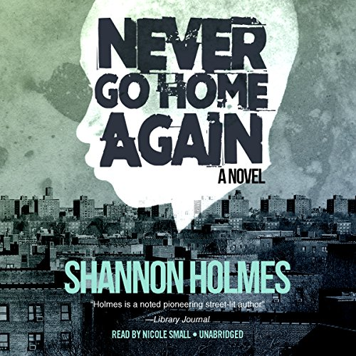 Never Go Home Again audiobook cover art