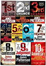 Womens Murder Club Collection by James Patterson 12 Books Set (Books 1 To 12)