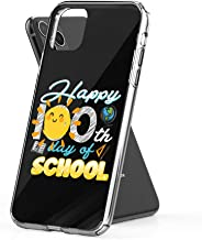 Case Phone Happy 100th Day of School for Teacher Kid (6.1-inch Diagonal Compatible with iPhone 11)