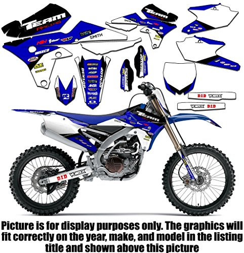 Team Racing Graphics kit compatible with Yamaha 2000-2008 TTR 90, EVOLV