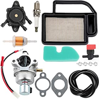 Dalom LT1040 LT1045 Carburetor + 20 083 02-S Air Filter Pre Cleaner Tune Up Kit for MTD Cub Cadet LT1040 LT1045 LTX1042 LTX1045 i1042 RZT42 LH4600H Lawn Mower Tractor