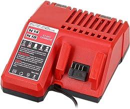 Reemplace el cargador de batería 14.4v 18v para la batería de iones de litio Milwaukee M14-18C 48-11-1850 48-11-1852 48-11-1840