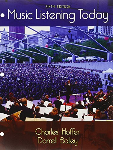 Compare Textbook Prices for Bundle: Music Listening Today, Loose-leaf Version, 6th + MindTap Music, 1 term 6 months Printed Access Card 6 Edition ISBN 9781305718968 by Hoffer, Charles,Bailey, Darrell