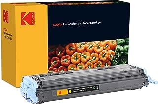 Kodak Supplies 185H600204 碳粉 2000 页 黄色 适用于 Hewlett Packard CLJ1600 兼容 Q6002A/124A/9421A004/707Y