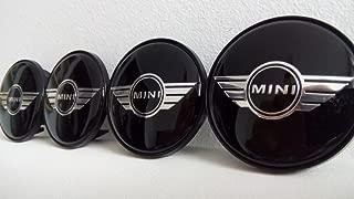 4 X Nouveau Origine Mini Alloy Wheel Centre Caps Hub insignes jaune F56