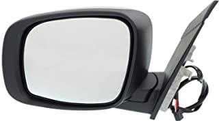 Mirror for Dodge Grand Caravan 08-18/Town and Country 08-16 Left Side Power Manual Folding Heated w/Signal Light Chromeome