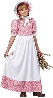 California Costume Early American Girl Costume
