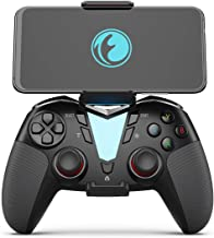 IFYOO FO206 2.4G Wireless & Bluetooth Gaming Controller Gamepad, Compatible with iPhone iPad iOS, Android Phone/Tablet/Smart TV/TV Box, PC Windows 10/8/7/Steam, PS3 - [Included a Bracket]