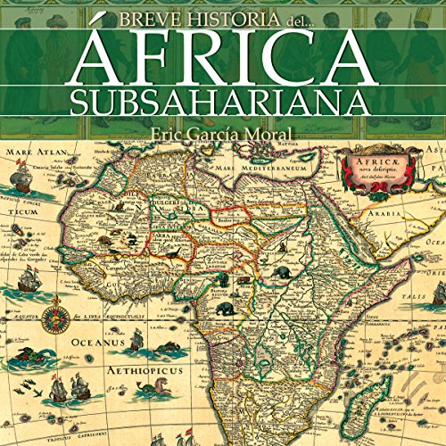 Breve historia del África subsahariana [Brief history of sub-Saharan Africa] audiobook cover art