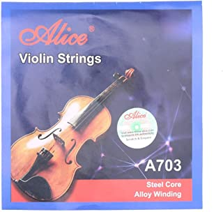 سلسلة اوتار الكمان اي- فيرست مقاس ايه 703 من اليس