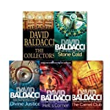 David Baldacci A Camel Club Thriller Collection 5 Books Set