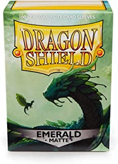 Dragon Shield Matte: Emerald (100 Stück)