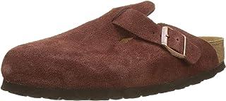 Birkenstock 女式 Boston SFB 木底鞋