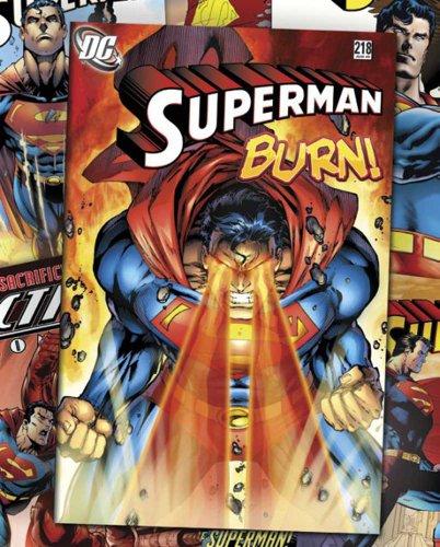 Dc Comics - Superman Comic Covers - Cartoon Comic Mini Poster Plakat Druck - Grösse 40x50 cm