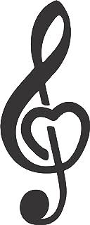 Best treble clef heart Reviews