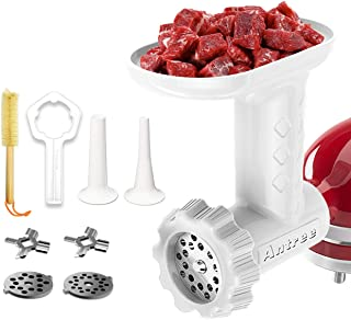 Antree Food Meat Grinder Attachment for KitchenAid Stand Mixer Including Sausage Stuffer Accessories