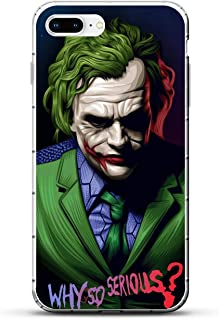 iPhone 7 Plus Case,Transparent Soft TPU Protective Cover for Apple iPhone 7 Plus-The Joker 1