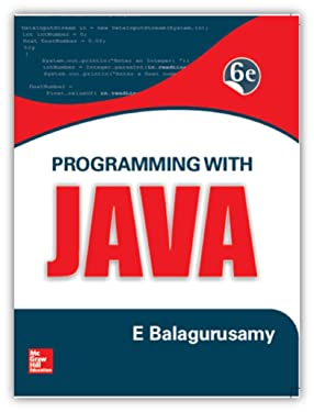 Programming With Java 6Th Edition