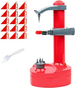 Electric peeler rotato express 2.0+ 15 Replacement Blades, Electric Peeler Fruits and Vegetables, Potato Peeler (Red)