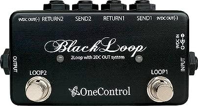one control black loop 2 loop switcher pedal