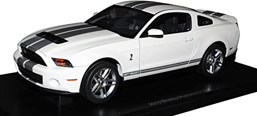 AUTOart Ford Mustang GT Coupe Weißs Silber V 2. Generation 2009-2014 72911 1 18 Modell Auto