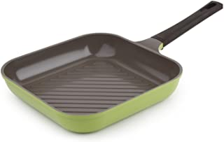 Neoflam 11 inch Ceramic Nonstick Grill Pan Green