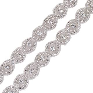 rhinestone trim for wedding dress