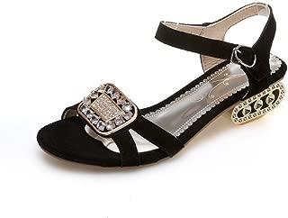 BalaMasa Womens Sandals Studded Huarache Urethane Sandals ASL04780