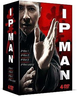 Arts Martiaux-Coffret : IP Man 1 + 2 + 3 + Master Z