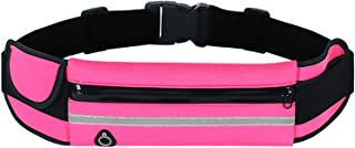 Rag & Sak® Running Belt Pouch with Water Bottle Carrier, Waist Pack for Sports Walking Hiking Workout Runner