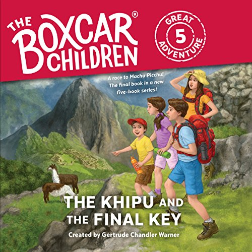 The Khipu and the Final Key     The Boxcar Children Great Adventure, Book 5              By:                                                                                                                                 Dee Garretson,                                                                                        J M Lee                               Narrated by:                                                                                                                                 Aimee Lilly                      Length: 2 hrs and 9 mins     Not rated yet     Overall 0.0