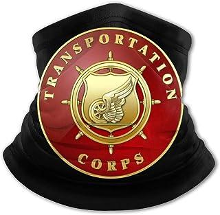 Us Army Transportation Corps - Pasamontañas para niños y niñas, protección UV, resistente al viento, multifunción, para ni...