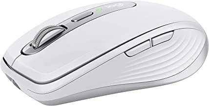 Logitech MX Anywhere 3 for Mac Compact Performance Mouse,Wireless, Comfortable, Ultrafast Scrolling, Any Surface, 4000DPI,...