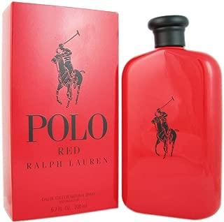 Polo Red By Ralph Lauren Eau De Toilette Spray for Men,6.7 Fl Oz, Pack of 1
