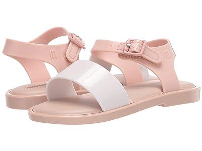 Mini Melissa Mar Sandal IV BB (Toddler/Little Kid) (Nude Soft Pink) Girl