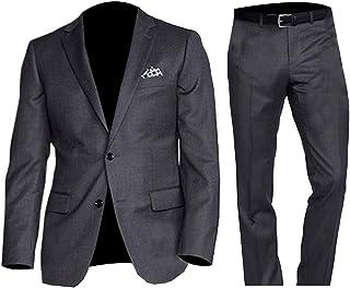 NMFashions James Bond Spectre Ivory White Tuxedo Suit with Black Pants